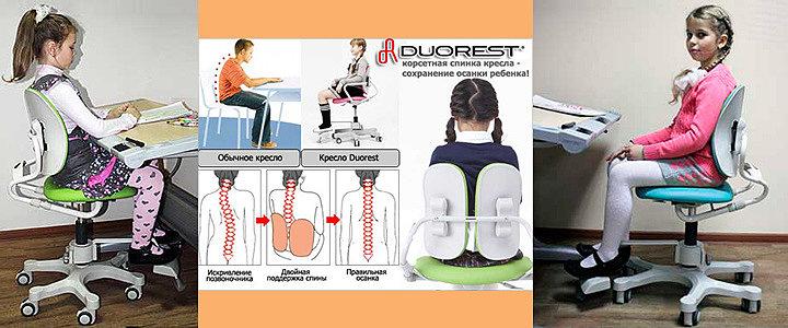 Ортопедические кресла Duorest