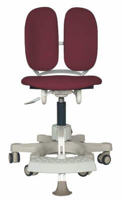 Детское кресло DUOREST KIDS DR-289DDS ECO RED (бордовая ткань 3ERD1 ) + DUALINDER