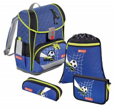 Школьный ранец Step by Step LIGHT 2 Top Soccer, 4 предмета, 138508 (Германия)