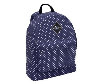 Рюкзак ErichKrause EasyLine 17L French Dots синий